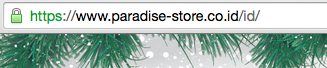 contoh website dengan alamat yang sudah dienkripsi